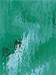 Spectrum Teal Green Waterglass (523-2W)