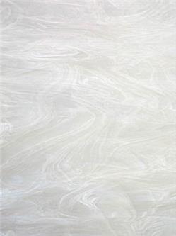 "Spectrum White swirled with Clear, ""Pearl White"" Fusible (305SF)"